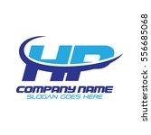 hp logo | Shutterstock .eps vector #556685068