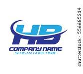 hb logo | Shutterstock .eps vector #556685314