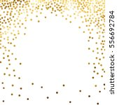 gold glitter background polka