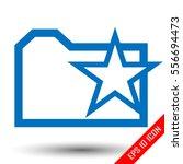 favorite folder icon. folder...