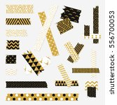 gold textured scotch  patterned ... | Shutterstock .eps vector #556700053