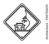 collapse traffic signal... | Shutterstock .eps vector #556702654