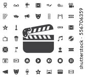 cinema icon.movie icon vector... | Shutterstock .eps vector #556706359