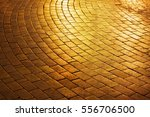 Golden Brick Circle Shaped...