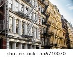 new york city view of exterior... | Shutterstock . vector #556710070