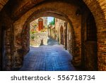 Picturesque Archway In San...