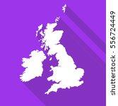 united kingdom great britain uk ... | Shutterstock .eps vector #556724449