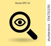 eye vector illustration   Shutterstock .eps vector #556731250