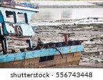 Broken Abandoned Fishing Boat...