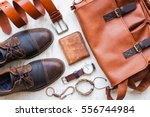 men's casual outfits with...   Shutterstock . vector #556744984