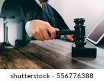 justice and law concept.male... | Shutterstock . vector #556776388