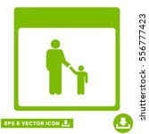 father calendar page icon.... | Shutterstock .eps vector #556777423