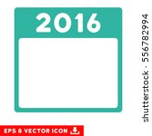 2016 year calendar template...   Shutterstock .eps vector #556782994