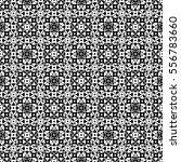 vector monochrome seamless... | Shutterstock .eps vector #556783660