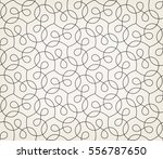 abstract geometric pattern with ... | Shutterstock .eps vector #556787650