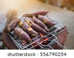 traditional japanese sweet... | Shutterstock . vector #556790254