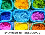 colorful powder for sale on the ... | Shutterstock . vector #556800979