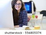 startup business  software... | Shutterstock . vector #556805374