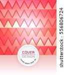 red abstract cover design... | Shutterstock .eps vector #556806724