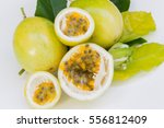 Passion Fruit So Fresh On White