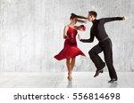 Dance Beautiful Couple Dancing...
