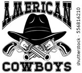 Vector Illustration Cowboy Hat...