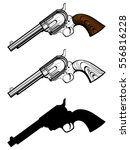 Vector Illustration Revolvers...