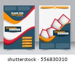 abstract flyer design... | Shutterstock .eps vector #556830310