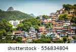 christ looking at favela ... | Shutterstock . vector #556834804