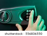 electronic secure safe for... | Shutterstock . vector #556836550