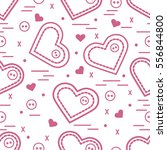 cute seamless pattern with...   Shutterstock .eps vector #556844800