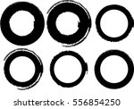 vector frames. circle for image.... | Shutterstock .eps vector #556854250