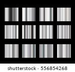 vector collection of metal... | Shutterstock .eps vector #556854268