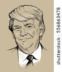 january 16  2017  portrait of...   Shutterstock .eps vector #556863478