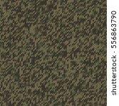 digital camouflage pattern.... | Shutterstock .eps vector #556863790