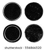 grunge post stamps.vector... | Shutterstock .eps vector #556866520
