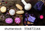 spa and wellness decorations... | Shutterstock . vector #556872166