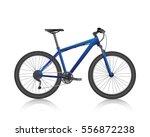 mountain bike  realistic vector | Shutterstock .eps vector #556872238