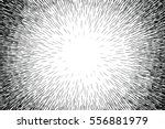 comic hand drawn radial lines... | Shutterstock .eps vector #556881979