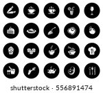 food icons | Shutterstock .eps vector #556891474