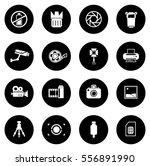 photography icons | Shutterstock .eps vector #556891990