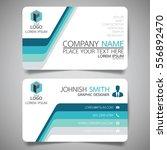 blue modern creative business...   Shutterstock .eps vector #556892470