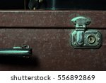 Close Up Of A Suitcase Travele...