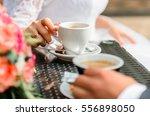 wedding items  wedding rings ... | Shutterstock . vector #556898050