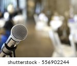 microphone in business... | Shutterstock . vector #556902244