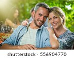 summertime  portrait of a... | Shutterstock . vector #556904770