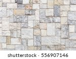 Close Up Home Marble Rock Wall...
