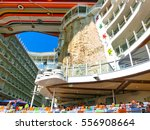 Small photo of Barcelona, Spain - September, 6 2015: Royal Caribbean, Allure of the Seas
