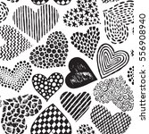 vector seamless pattern in with ... | Shutterstock .eps vector #556908940
