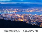 george town city view from... | Shutterstock . vector #556909978